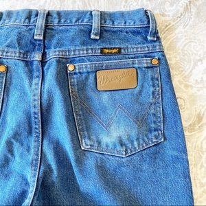 WRANGLER Distressed Cowboy Cut Slim Fit Jeans 32